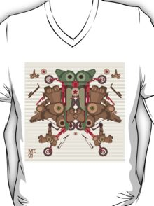 Vector Abstract robot character T-Shirt