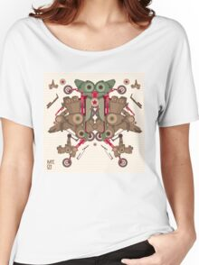 Vector Abstract robot character Women's Relaxed Fit T-Shirt