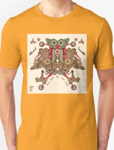 Vector Abstract robot character Unisex T-Shirt