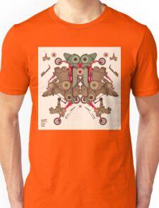Vector Abstract robot character Unisex T-Shirt