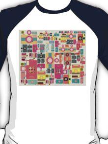 VIntage camera pattern wallpaper design T-Shirt