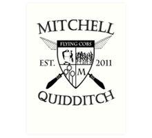 Mitchell Quidditch Team Art Print