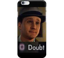 L.A. Noire DOUBT iPhone Case/Skin
