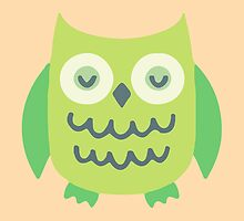 Green Owl Collection by charliedulcet