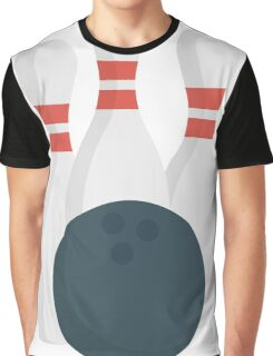Play Bowling Now Graphic T-Shirt