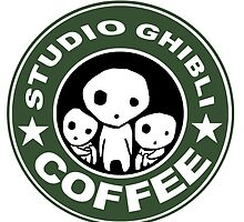 COFFEE: STUDIO GHIBLI2 by iumba