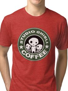 COFFEE: STUDIO GHIBLI2 Tri-blend T-Shirt