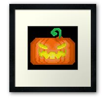 Halloween Jack-O-Lantern Framed Print
