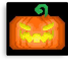 Halloween Jack-O-Lantern Canvas Print