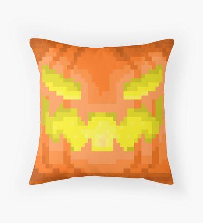 Halloween Jack-O-Lantern Throw Pillow