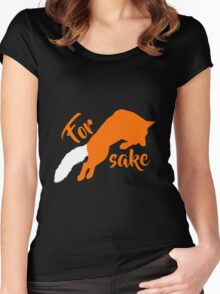 For FOX sake Women's Fitted Scoop T-Shirt