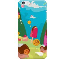 ice cream and candy land iPhone Case/Skin