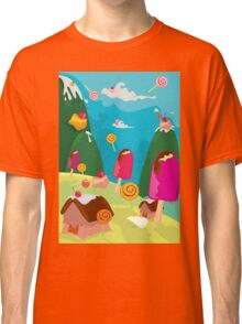 ice cream and candy land Classic T-Shirt