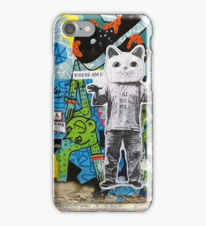 Ai Wei Wei in Berlin iPhone Case/Skin