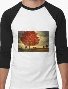 Autumn in Millennium Park Men's Baseball ¾ T-Shirt