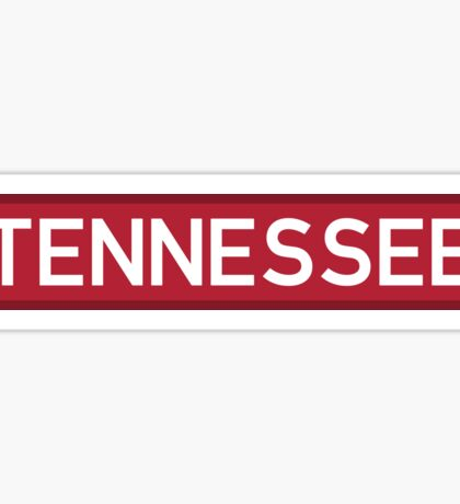 Tennessee R Sticker