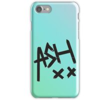 Blue Ombre Ash XX iPhone Case/Skin