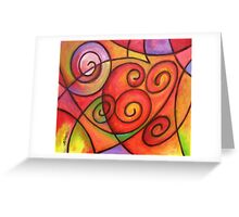 In my Hearth Greeting Card