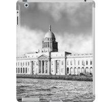 Custom House Quay In Dublin Ireland iPad Case/Skin