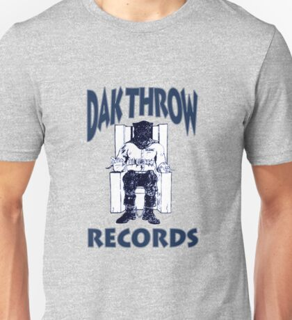 Dak Throw Records Unisex T-Shirt