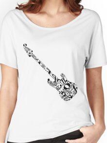 Music guitar Women's Relaxed Fit T-Shirt