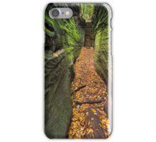 Narrow Crevice iPhone Case/Skin