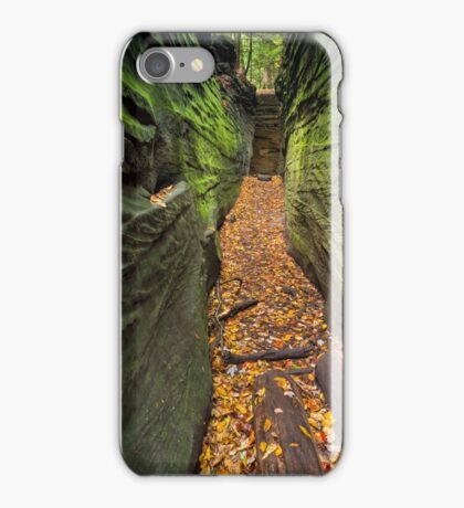 Narrow Crevice iPhone Case/Skin