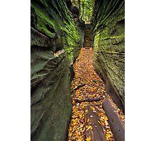 Narrow Crevice Photographic Print