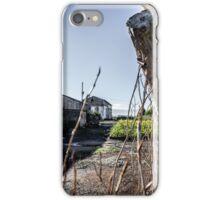 Abandoned old farmhouse iPhone Case/Skin