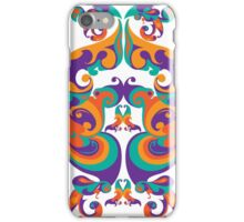 symmetrical vector colorful pattern iPhone Case/Skin