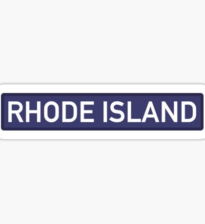 Rhode Island B Sticker