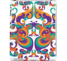 symmetrical vector colorful pattern iPad Case/Skin