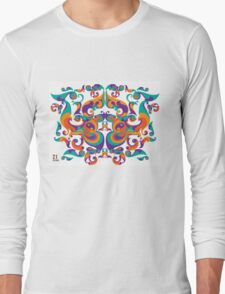 symmetrical vector colorful pattern T-Shirt