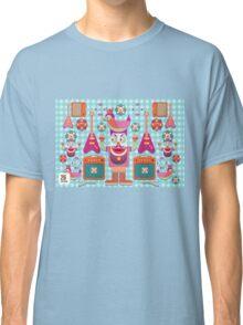 Vector cartoon music band equipment Classic T-Shirt