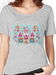 Vector cartoon music band equipment Women's Relaxed Fit T-Shirt