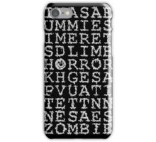 Horror Puzzle iPhone Case/Skin