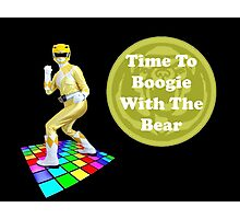 Time To Boogie With The Bear Photographic Print