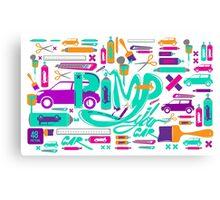 pimp my car Canvas Print