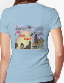 The Zoo Race Rides Womens Fitted T-Shirt
