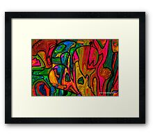 Picasso's Saturday Morning Framed Print