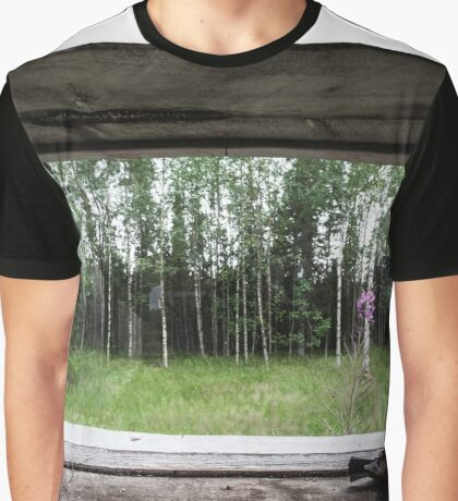 Bird View Graphic T-Shirt