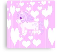 Kawaii Unicorn  Canvas Print