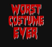 WORST COSTUME EVER Womens Fitted T-Shirt