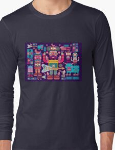 vector band and musicians  Long Sleeve T-Shirt