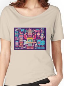 vector band and musicians  Women's Relaxed Fit T-Shirt