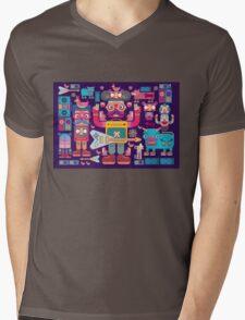 vector band and musicians  Mens V-Neck T-Shirt