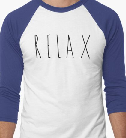 Relax Men's Baseball ¾ T-Shirt