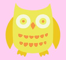 Yellow Owl Collection by charliedulcet