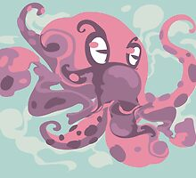 Cute octopus monster by singpentinkhepi
