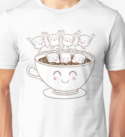 Marshmallow fun! Unisex T-Shirt